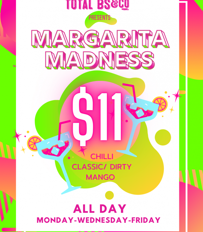 Let us help you to get over HuMp dAy🥴... with our Margarita Madness🎉🎉  Available ALL DAY till late!😎🍸🍸 EVERY MON-WED-FRI